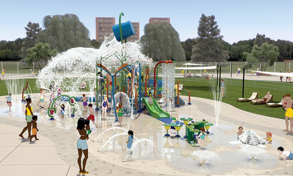 Aquatic Center Design Concept